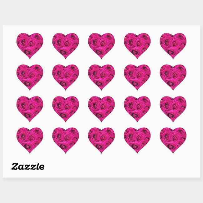 Heart Stickers #AD , #sponsored, #created#Stickers#Shop#Heart