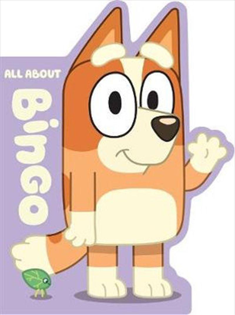 Bluey All About Bingo Abc For Kids Bingo Books Bingo