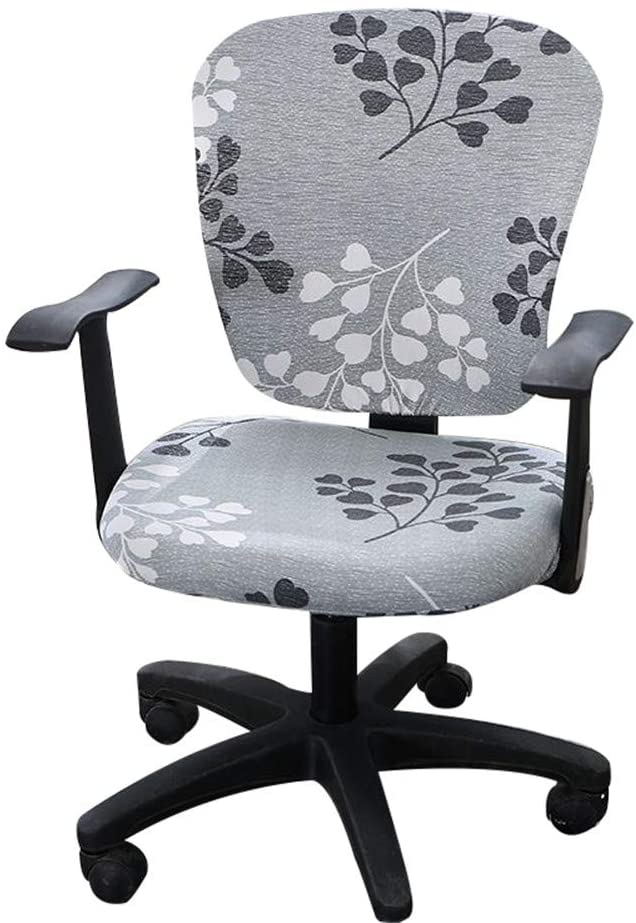 Split Office Chair Cover Desk Slipcover Rotating Stretch Covers Seat Task