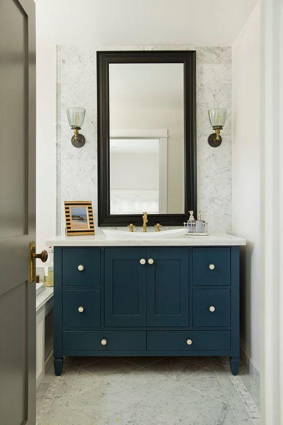 Inchyra Blue Blue Bathroom Blue Bathroom Furniture Blue Bathroom Vanity