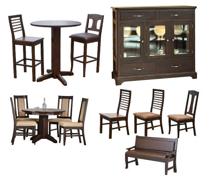 Beaumont Dining Collection Available In 6 Different Stains Of Hardwood For More Information Visit Www Portfoliointeriors Fine Furniture Dining Chairs Dining