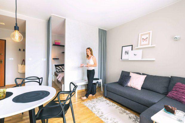 Zdjecie Numer 3 W Galerii 35 Metrowe Mieszkanie Udalo Sie Wydzielic Osobna Sypialnie Home Decor Interior Design Furniture