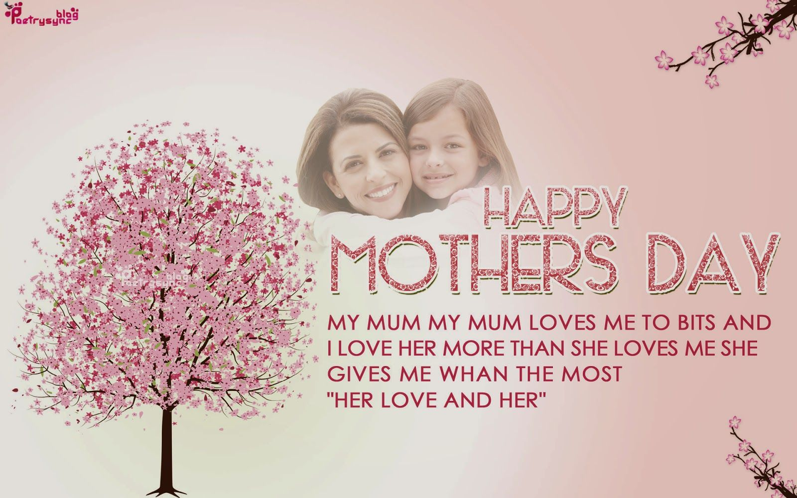 Poetry happy mothers day greetings wallpapers with messages poetry happy mothers day greetings wallpapers with messages kristyandbryce Images