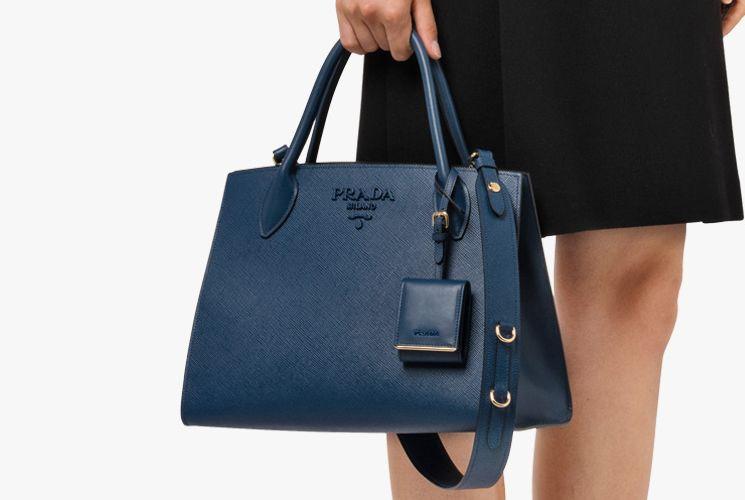 c43e5bf2338b Prada Monochrome Tote Bag | Bags addiction ❤ | Bags, Prada bag, Prada