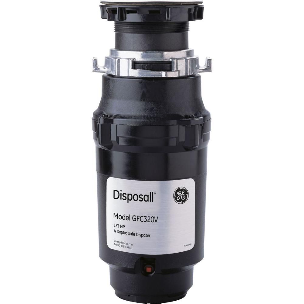 1/3 HP Continuous Feed Garbage Disposal   Products