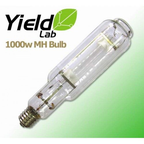 Yield Lab 1000 Watt Metal Halide Bulb Grow Light Bulbs Grow Lights Bulb