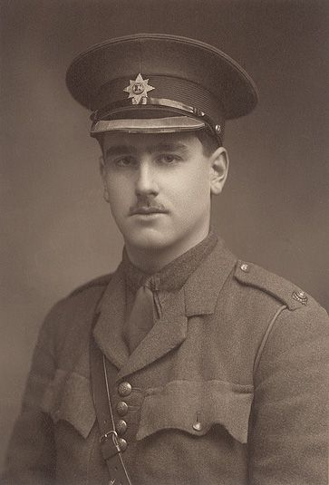 Jack Kipling, an officer in the Irish Guards and Rudyard Kipling's only son, killed in action September 27 1915 at the Battle of Loos.