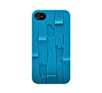 SwitchEasy Plank 3D Case for iPhone 4 / 4S - Blue - £33