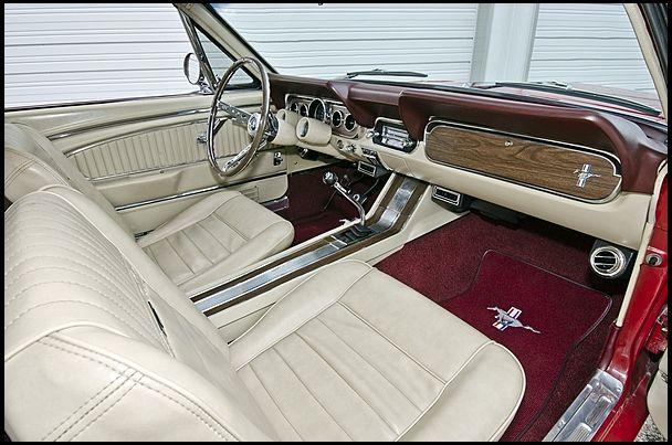 1966 mustang manual transmission