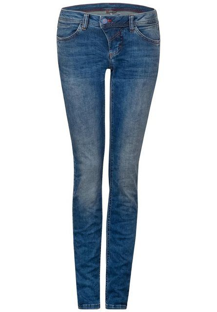 Photo of STREET ONE slim-fit jeans with contrasting stitching | OTTO