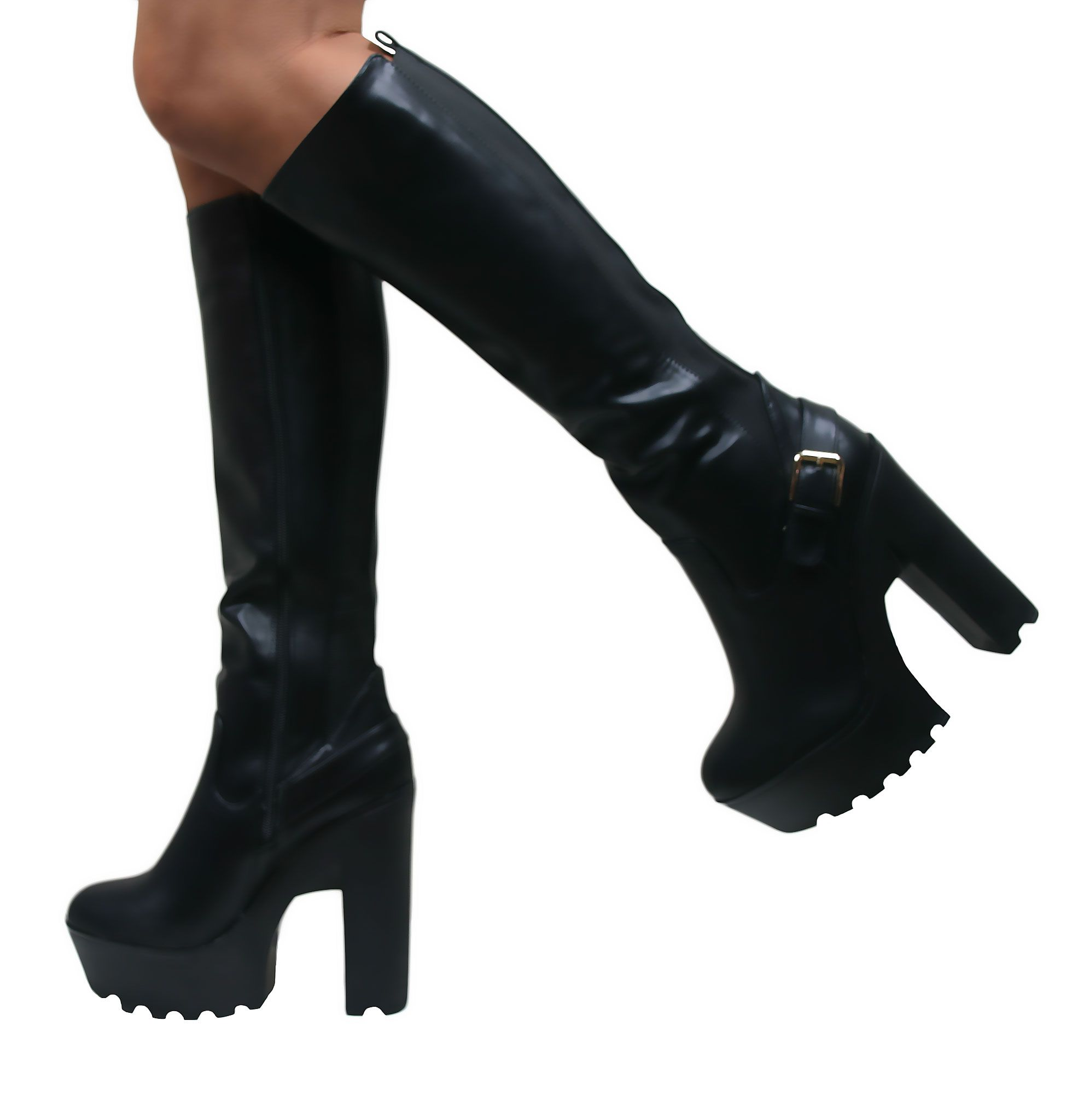Couture Women's Knee High Heel Boots