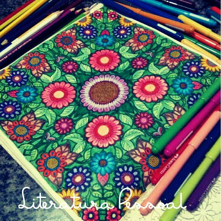 livro de colorir jardim das flores - Pesquisa Google