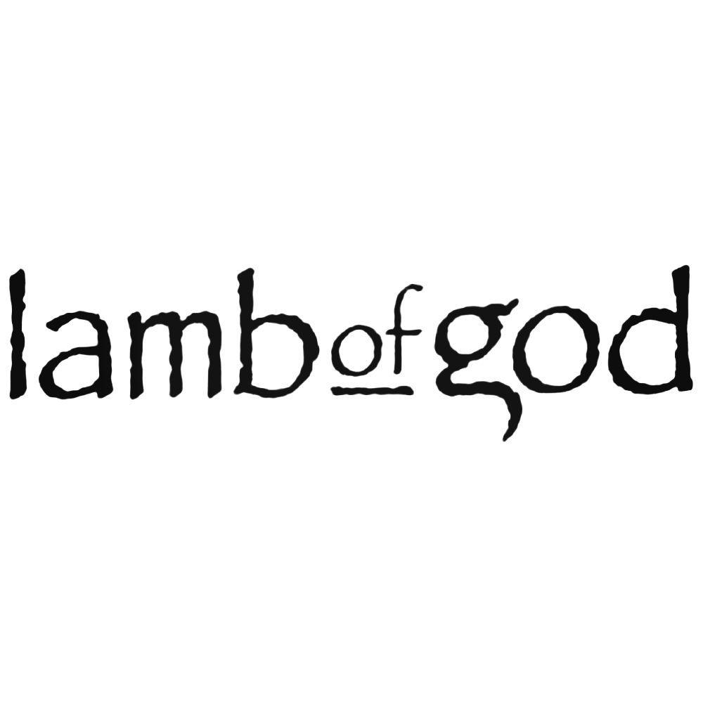 Lamb Of God Decal Band Logo Vinyl Decal Aftermarket Decals Pinterest