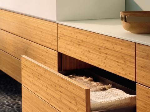 Badezimmermöbel Bambus ~ Burgbad crono waschschrank bambus g pixel badezimmer