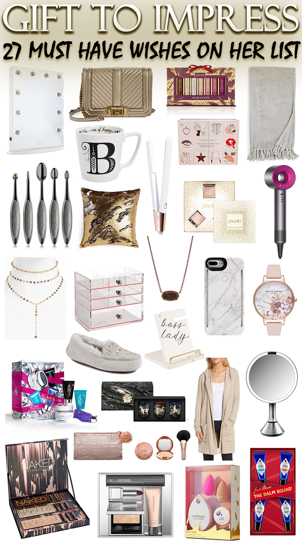 Gift to Impress // 27 MustHave Gifts on Her Wishlist
