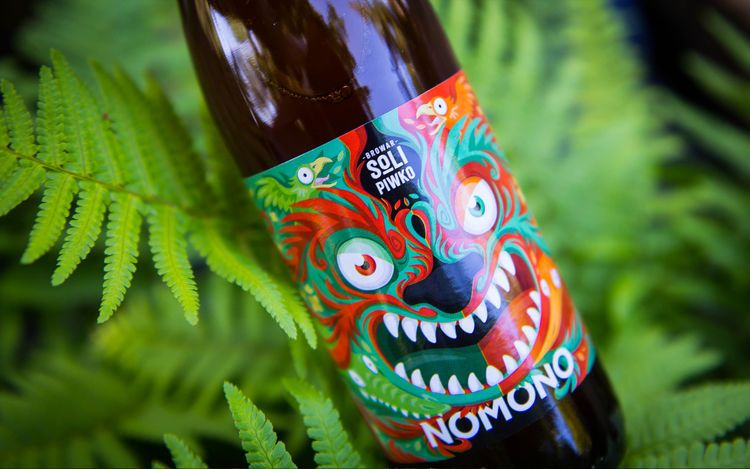Monstrous Beer Labels Beer - beer label