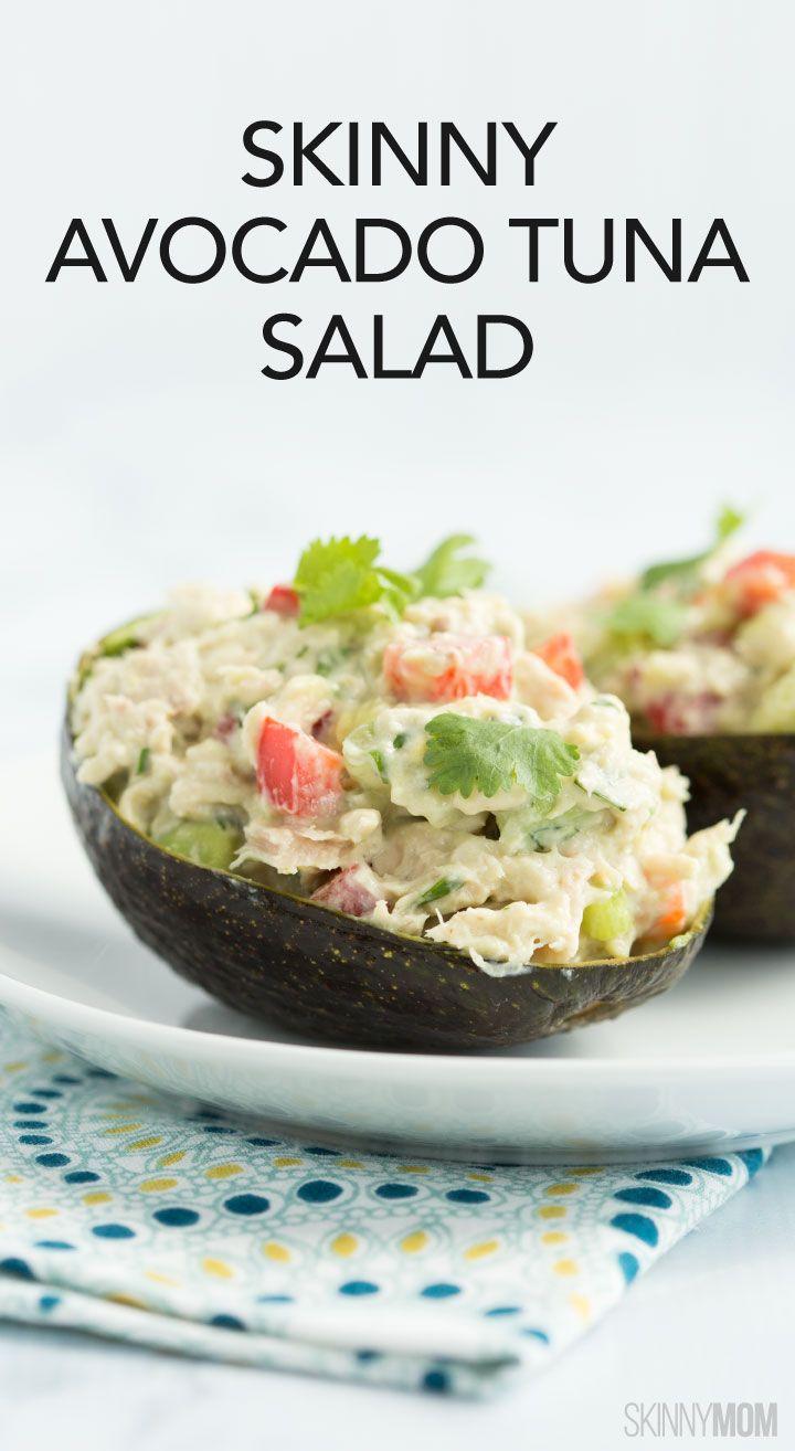 Skinny avocado tuna salad recipe avocado tuna salad for Tuna fish salad calories