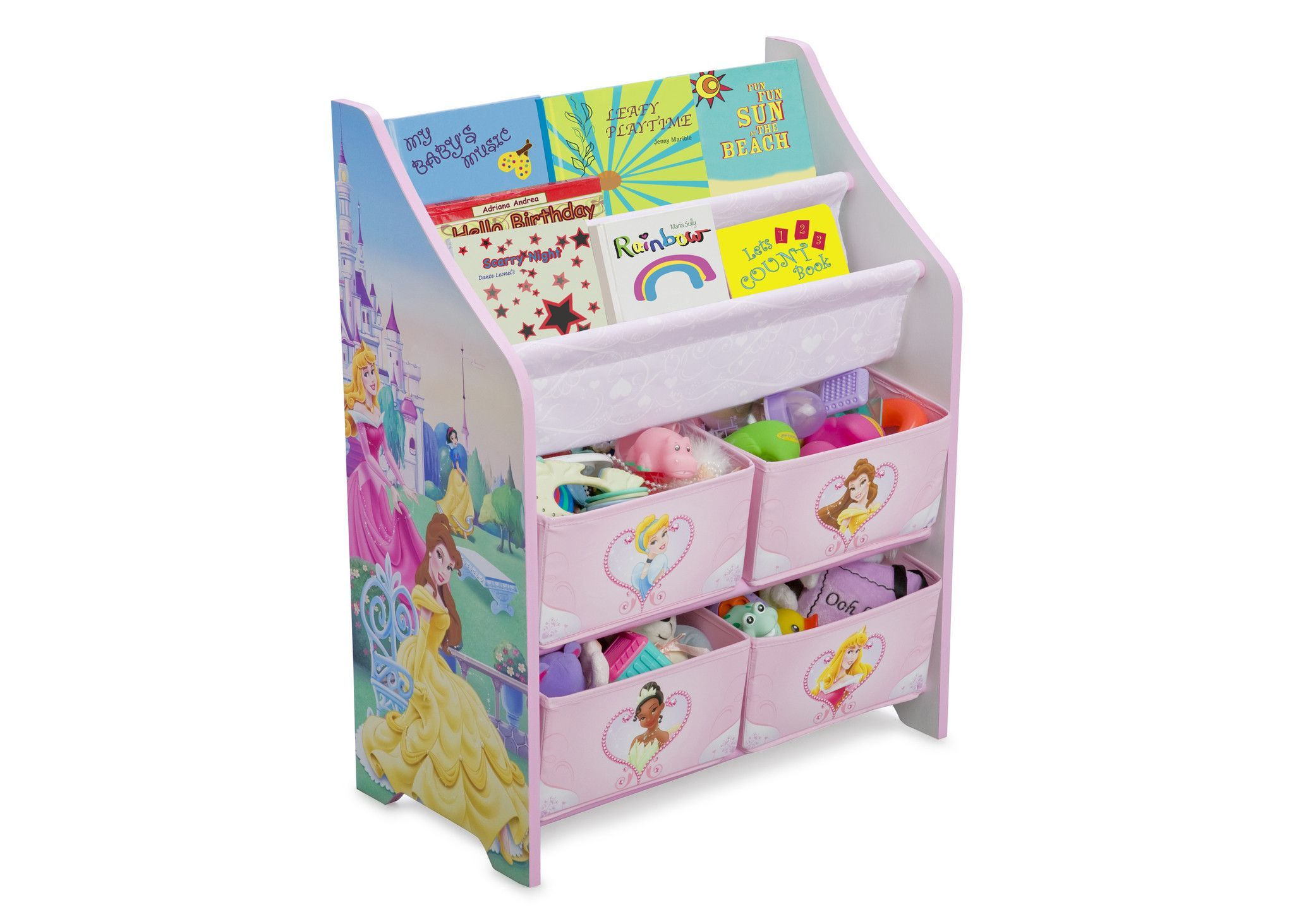 Princess Book Toy Organizer Toy Organization Disney Princess Books Kids Toy Boxes