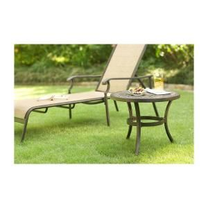 Martha Stewart Living Solana Bay Patio Side Table A Et 1148 D22 At