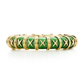6f6c69dd0 Croisillon Bracelet | Bracelets | Tiffany jewelry, Tiffany bangle ...