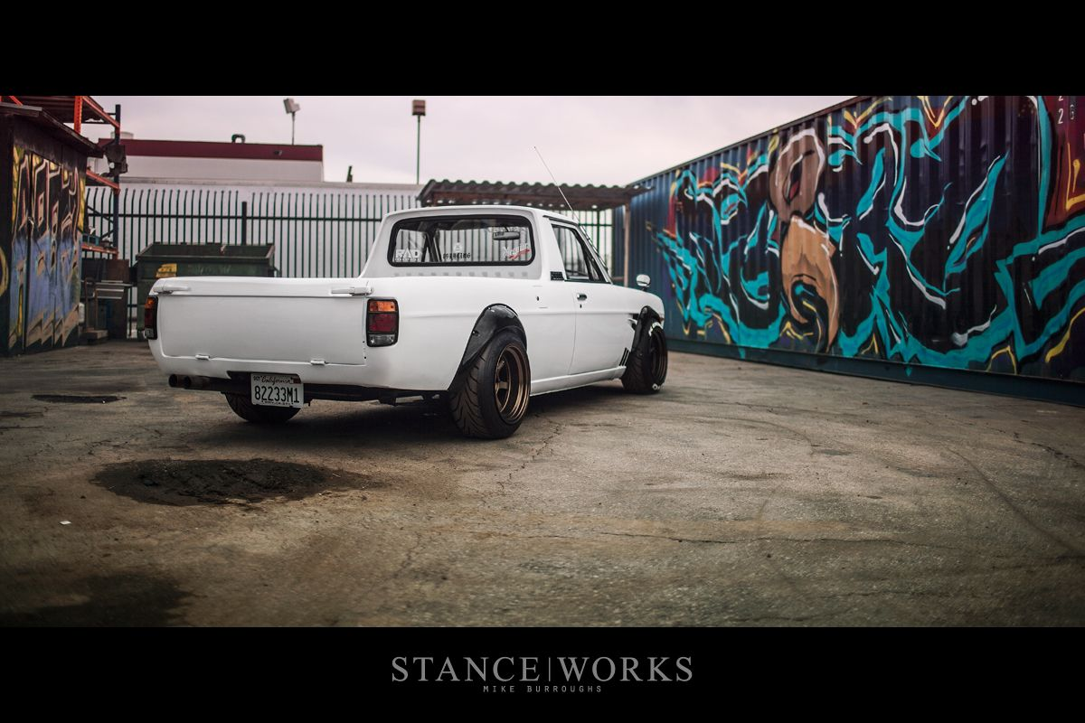 Nissan datsun 510 truck - Dominic Le Combines A Datsun Sunny Pickup Truck And A Hakosuka Skyline To Create The Hakotora The Skyline Ute That Never Was