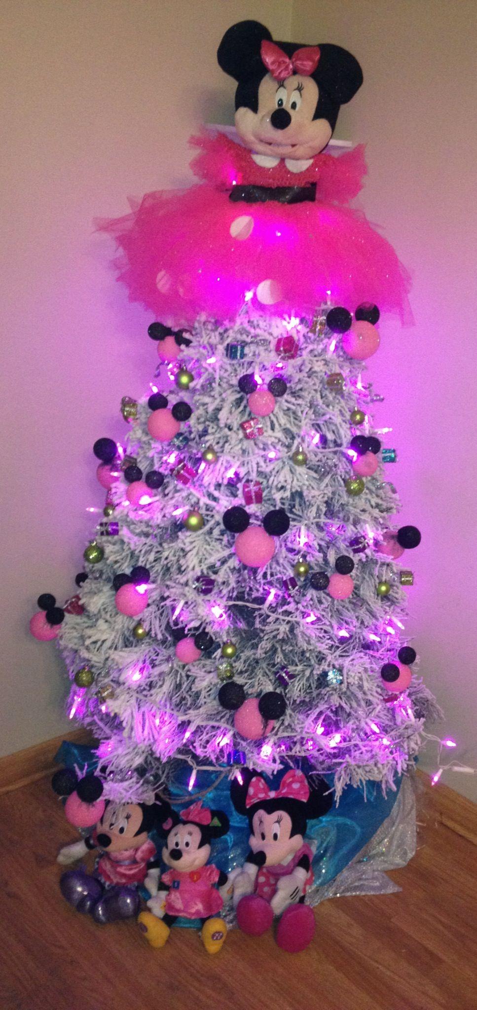Minnie Mouse tree | Minnie christmas, Mickey mouse christmas