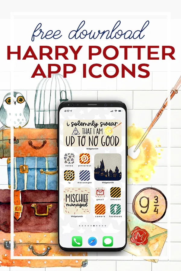Free Harry Potter Aesthetic Widget And App Icons Harry Potter Iphone Harry Potter App Harry Potter Aesthetic