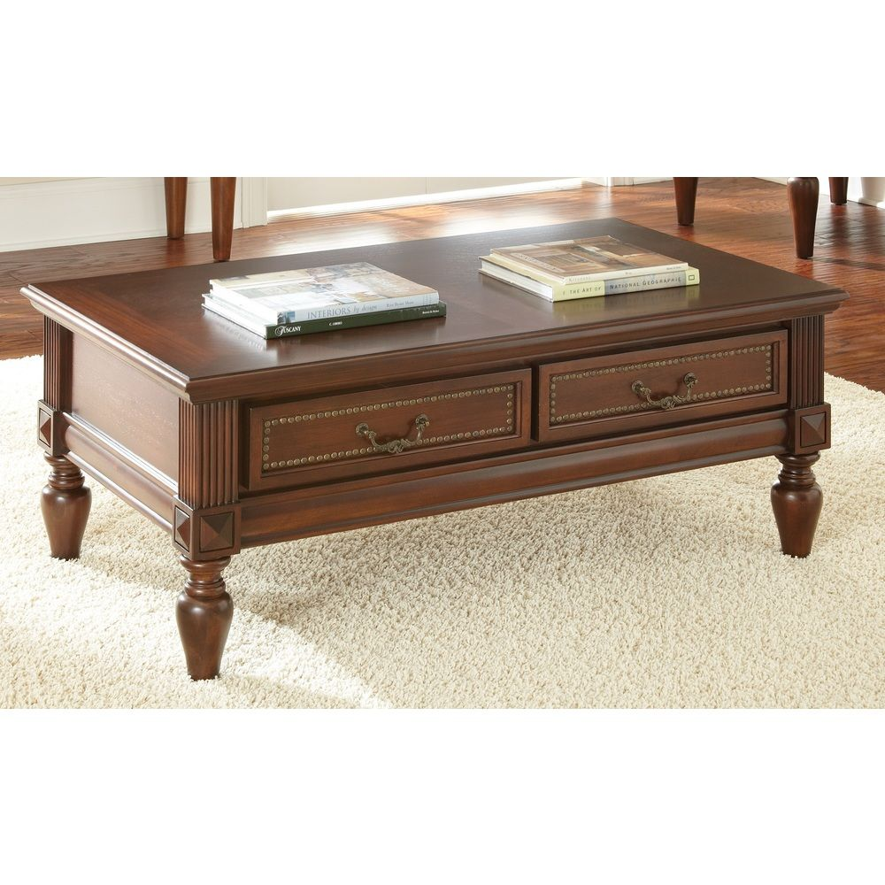 Douglas storage coffee table overstocktm shopping great for Overstock trunk coffee table