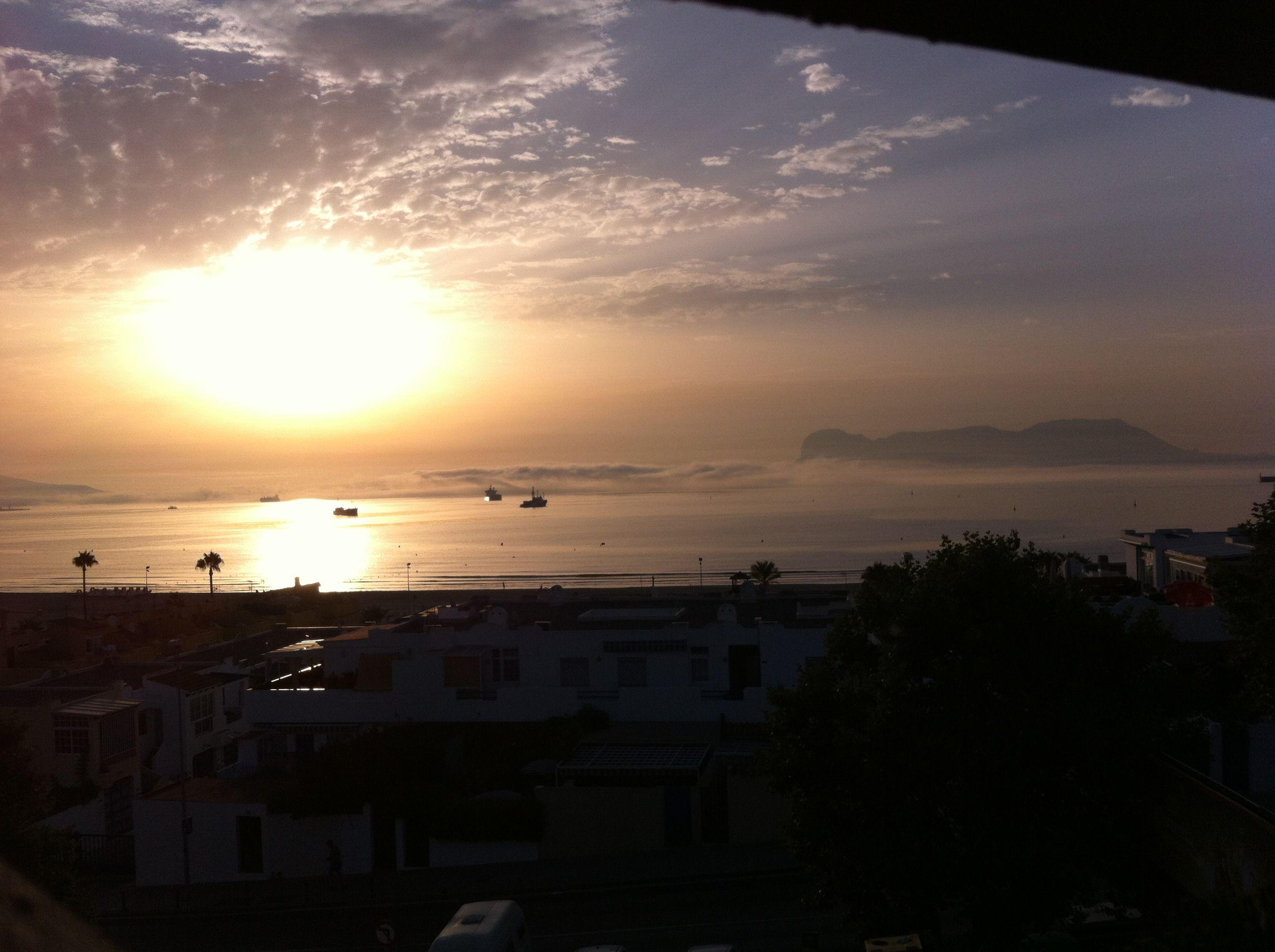 Amaneciendo en Algeciras