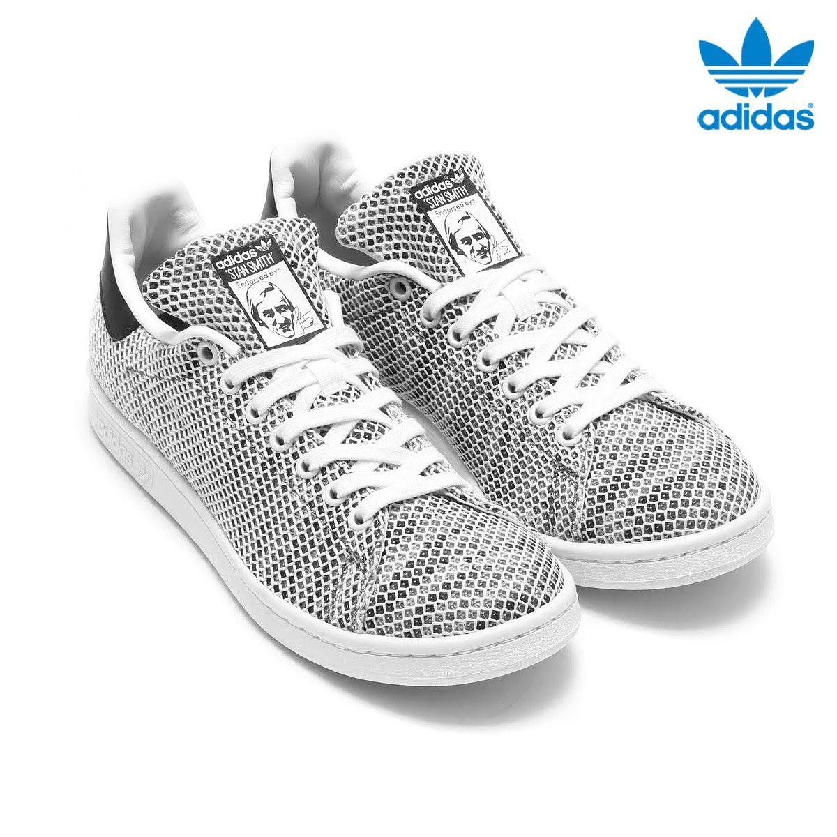 6ecdf78e19ef Adidas Originals STAN SMITH Running White   Running White   Core Black