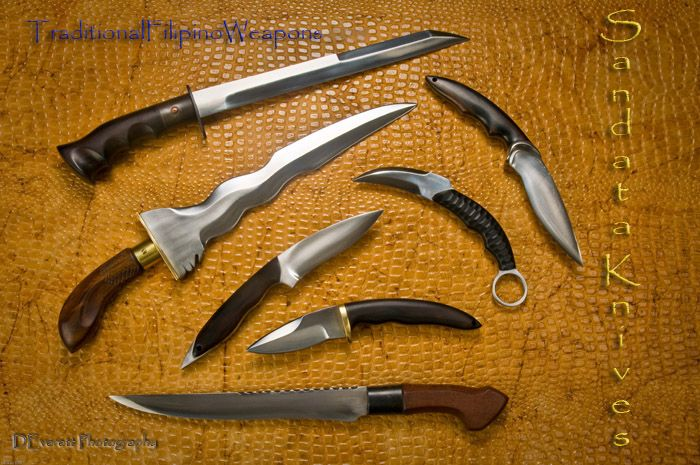 Traditional Filipino Knives Daggers Of The Philippines Knife Filipino Martial Arts Pocket Knife