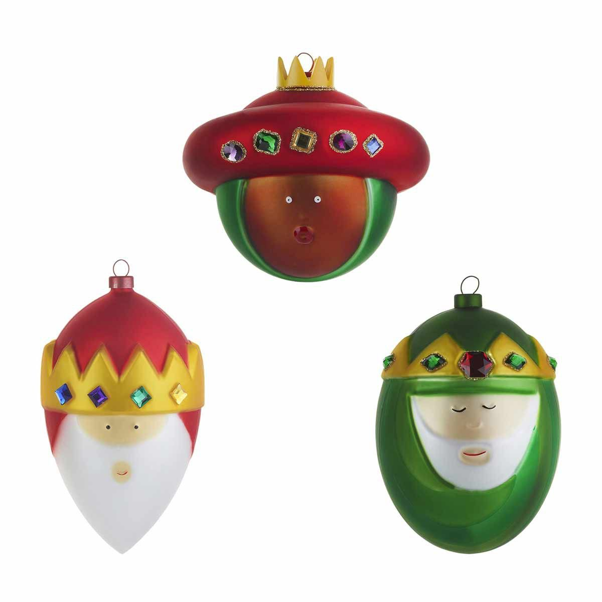 Christmas Baubles, Set of 3 by Alessi at Dotmaison