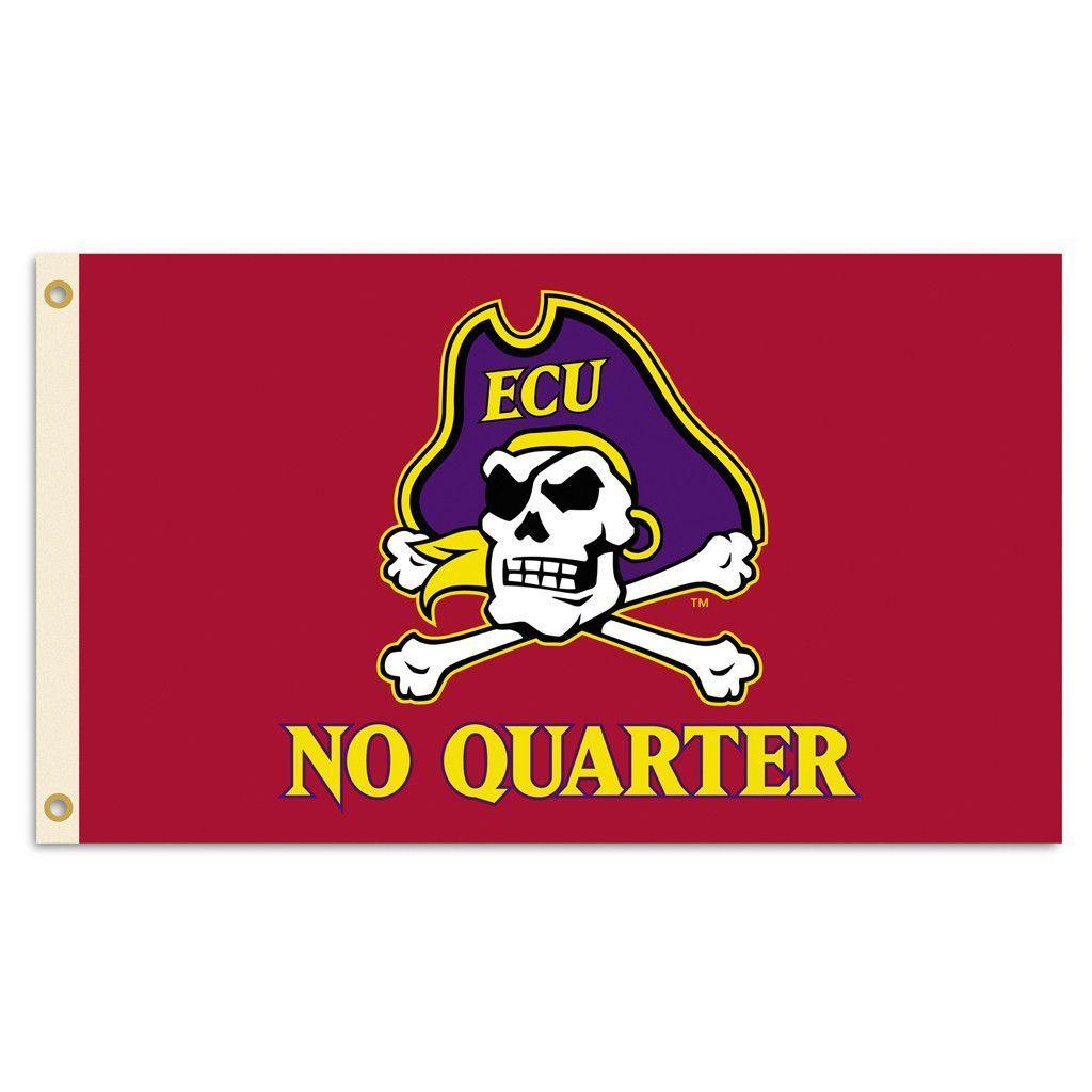 East Carolina Pirates Team Slogan Flag East Carolina Pirates