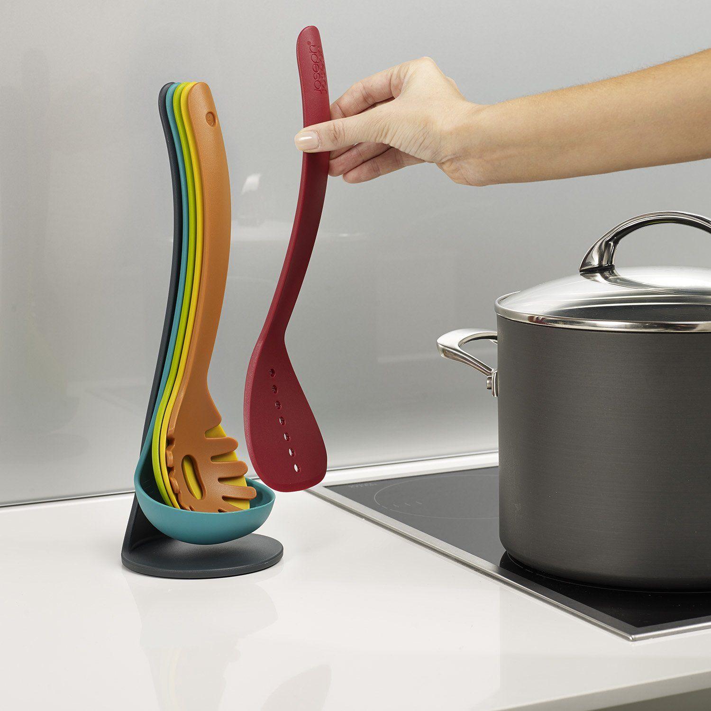 Best kitchen utensil set - Best Kitchen Utensil Set Amazon Com Joseph Joseph 5 Piece Compact Nesting Kitchen Utensil Set
