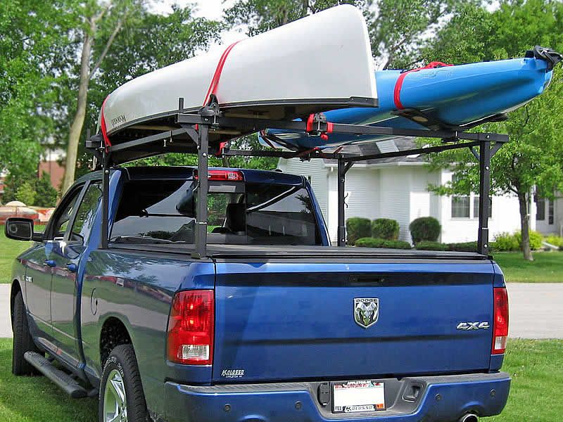 The Stake Pocket Truck Rack Kayaking Canoeing