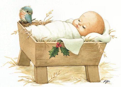 Entradas Sobre Nino Jesus En En Clave De Ninos Postal Navidena Vintage Bebe De Navidad Saludos De Feliz Navidad