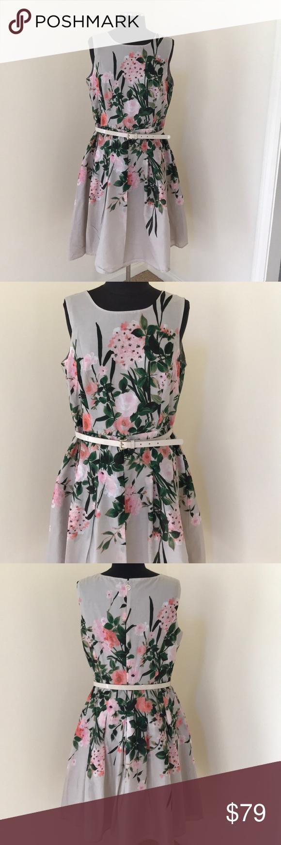 4fee534f7a5 NWT! Tommy Hilfiger SZ 10 floral cotton dress NWT in 2018