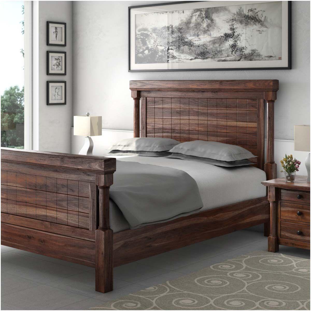 Sierra Living Concepts Furniture Solid Wood Bed Bed Frame