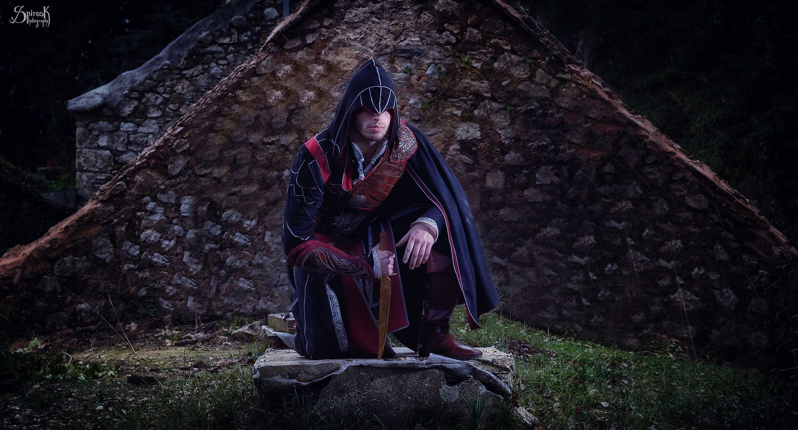 Thanatos Industries is Ezio Auditore de Firenze (Assassin's Creed) by SpirosK photography   by SpirosK photography