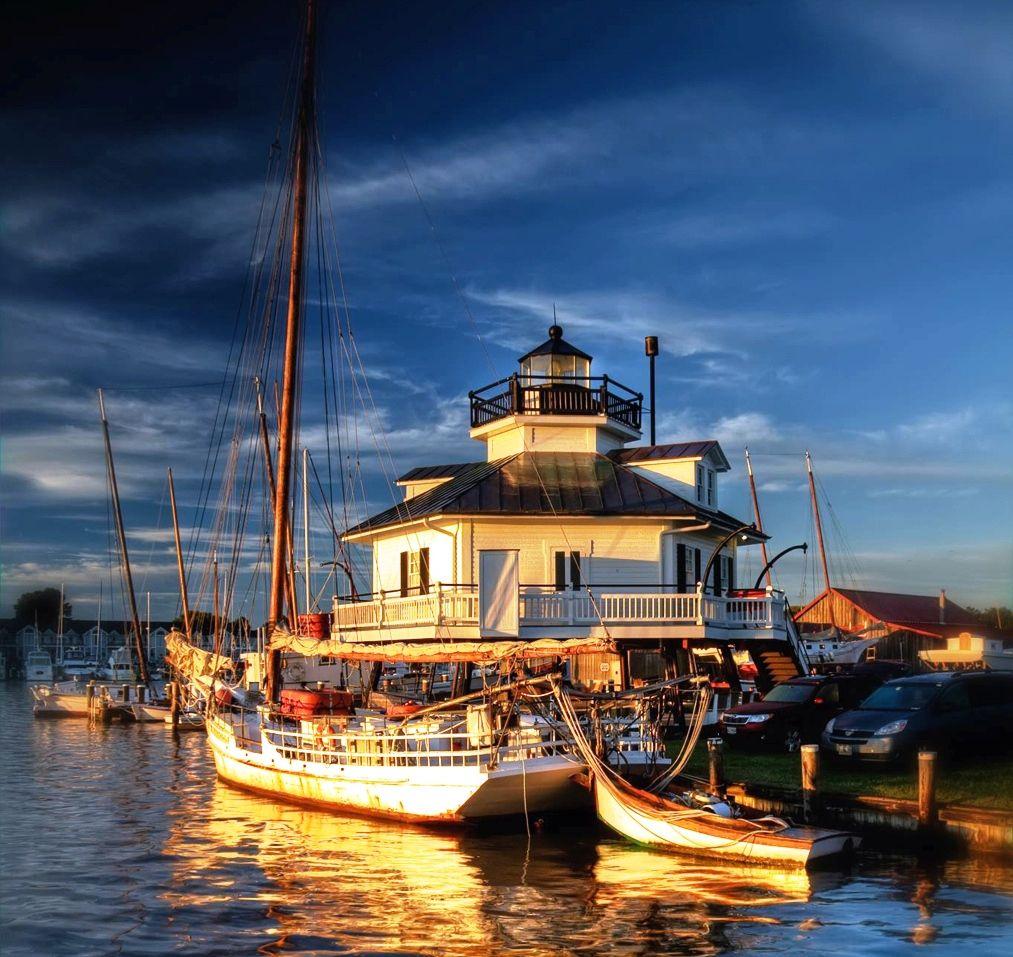 St. Michael's Light House  #Marylandrealestate