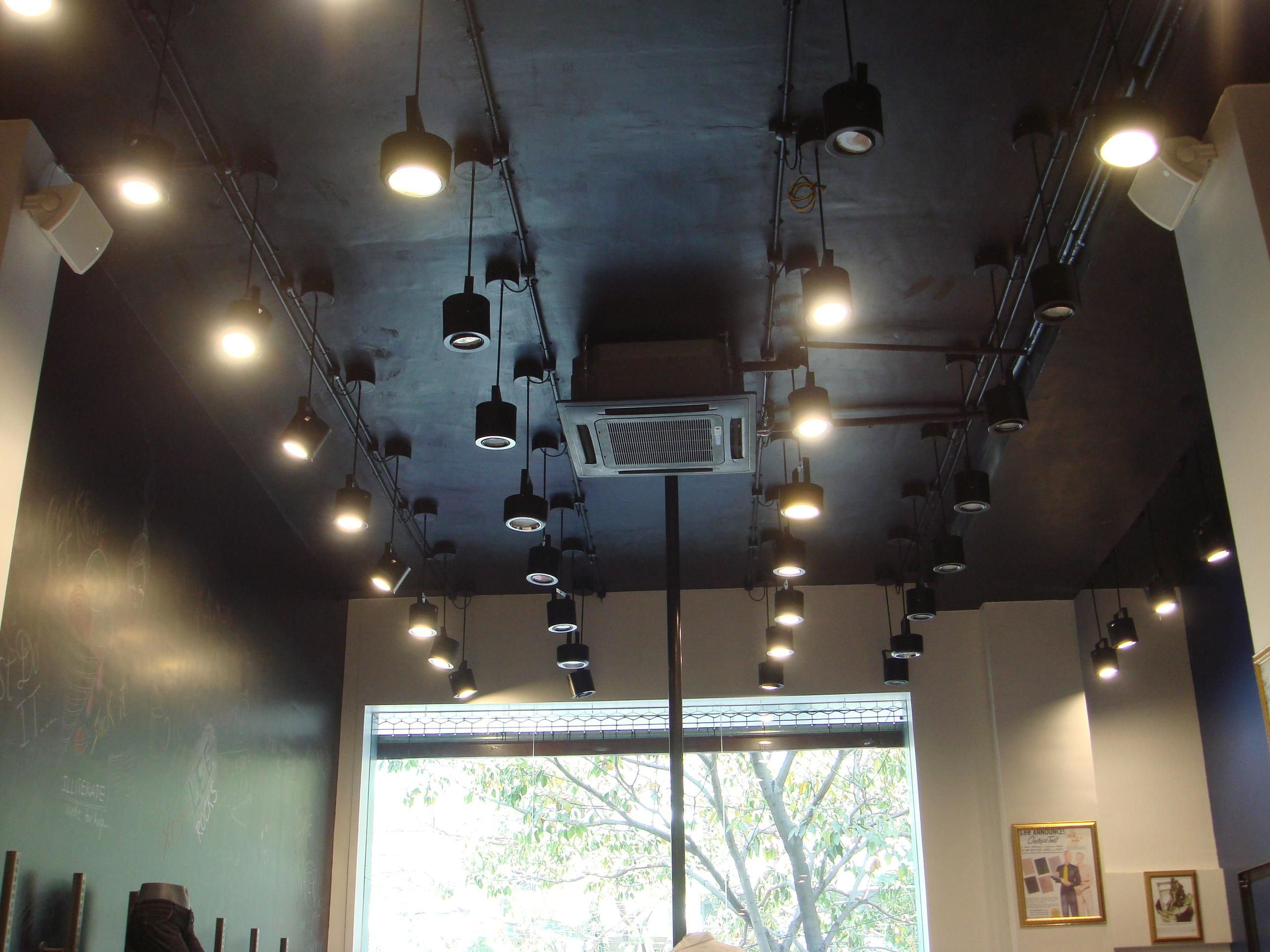 lighting showroom lighting ceiling lights