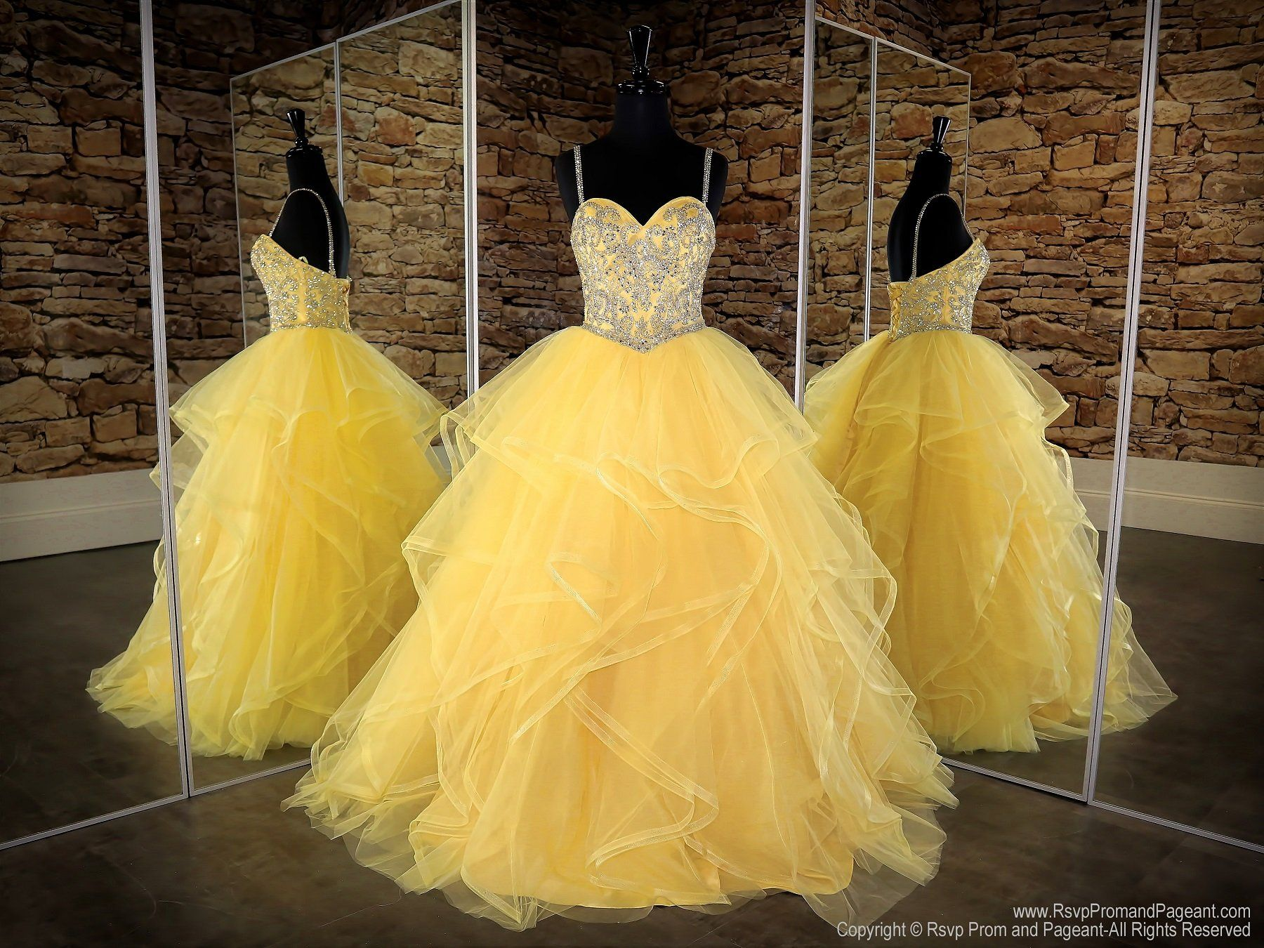 Sunflower Sweetheart Lace Up Ball Gown Ball Gowns Prom Dresses Ball Gown Sweet Sixteen Dresses [ 1350 x 1800 Pixel ]