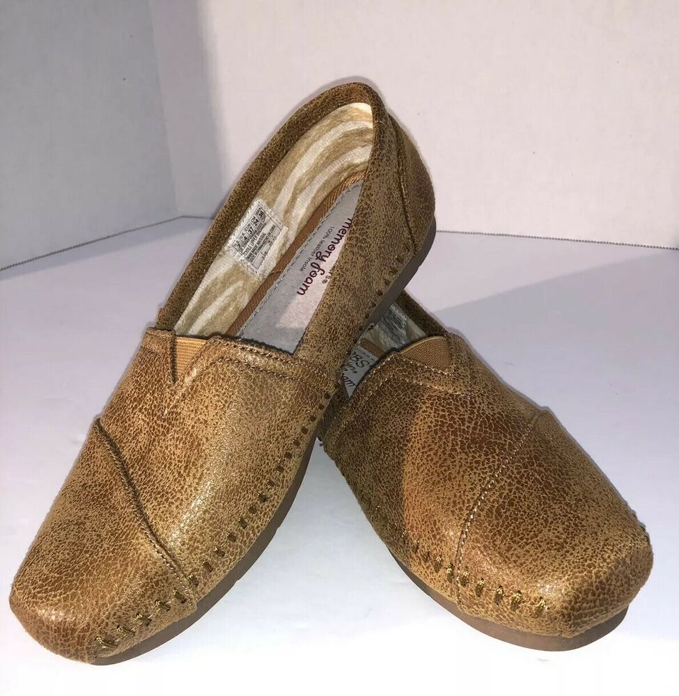 BOBS Sketchers SIZE 7 Brown Leather