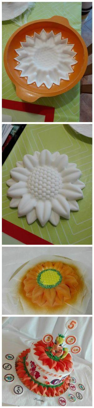Púdrový sprej je možné využiť aj pri zdobení torty. Pozrite si postup od Kadanky,  ktorá ho použila naozaj originálnym spôsobom.