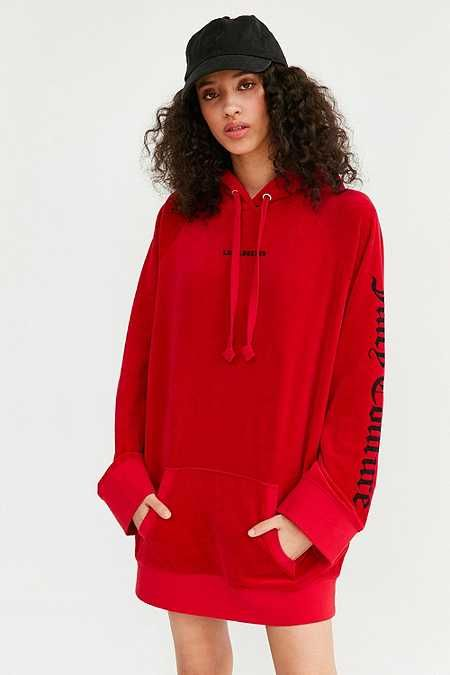 431f8f1571b1 Juicy Couture For UO Oversized Velour Hoodie