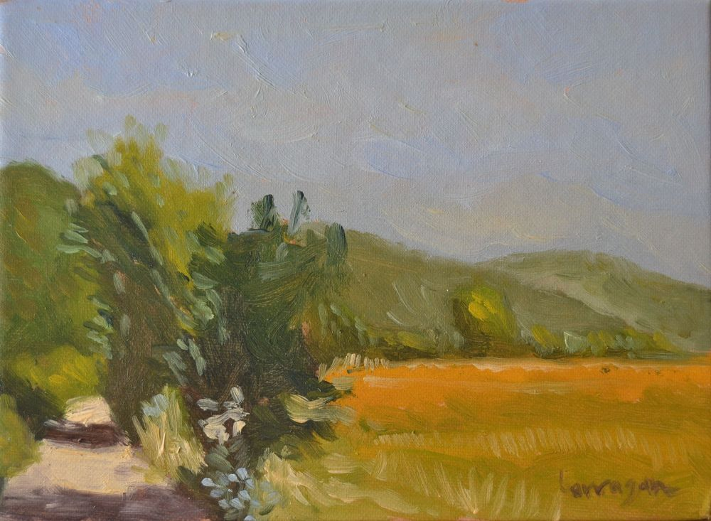 Don't miss out on this great deal. Auction ends in 1 hour!! Italian View Landscape Oil Painting of Umbria Countryside #Impressionism