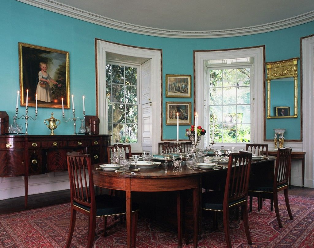 Nathaniel Russell House A Museum Property Of Historic Charleston Foundation Built In 1808 And Restored Ten Years Ago Now To Decide Which Room Paint