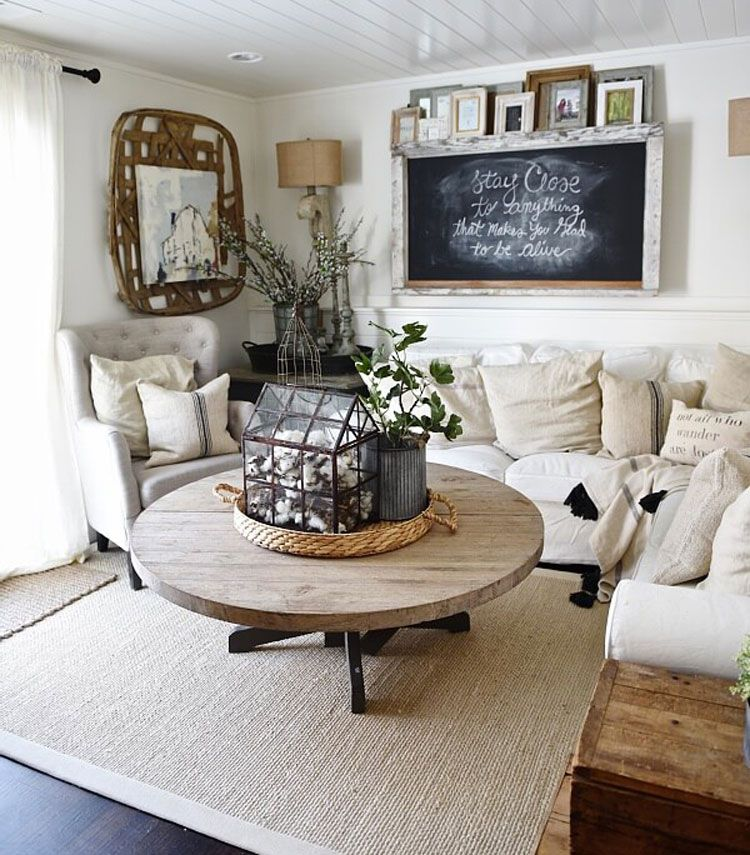 Home Ideas Review In 2020 Farmhouse Decor Living Room French Country Decorating Living Room Farm House Living Room