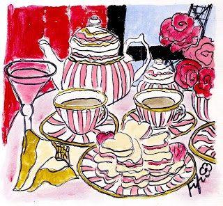 Tea and Cosmos in Paris