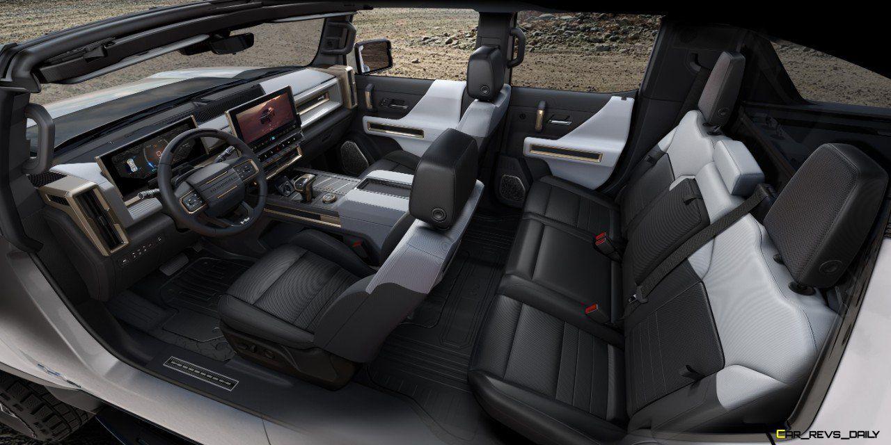 2022 Gmc Hummer Ev 008 Hummer Interior New Hummer Hummer Pickup